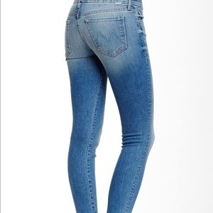 Mother looker skinny jeans in wild and sweet